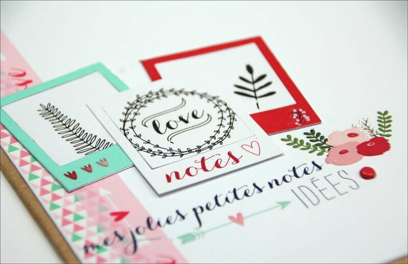 Cahier de création Lovely flowers - DT Tacha 6p