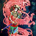 The geisha, the sword & the dragoon...