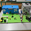 Ecoquartiers conçus par les élèves de seconde : les maquettes exposées au CDI