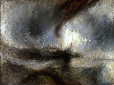 la mer - tempête .. neige .. solitude  - Turner dans off-off 33090093_p