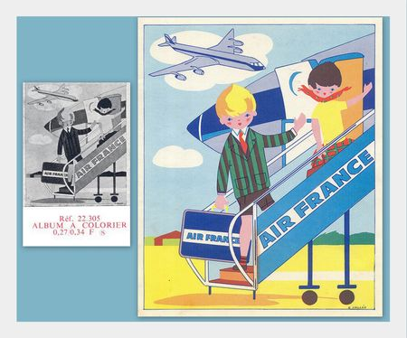 CATALOGUE_AIR_FRANCE_1966_COLORIAGE