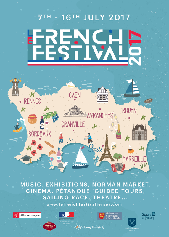 Le FRENCH FESTIVAL de JERSEY plus proche de PARIS VIA… La BRETAGNE