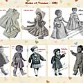 COUTURE, TRICOT, BRODERIE, CROCHET et poupée Modes et Travaux