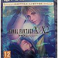 [La minute GEEK] : (Unboxing nouveauté) Final Fantasy X-X2 HD -édition spéciale-, <b>Playstation</b> 4.