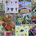 10 <b>activités</b> pour fêter le printemps!