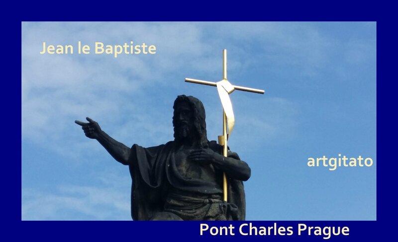 Jean le Baptiste Artgitato Pont Charles Prague 2