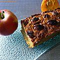 Cake au potimarron, pommes et <b>cannelle</b> (sans gluten, produit laitier, sucre et matière grasse)