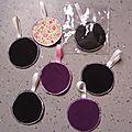 <b>Disques</b> démaquillants lavables home made.