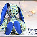 <b>Lapin</b> Spring's Rabbit, esprit du printemps
