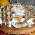 Tarte au citron bio de l'Ardèche et meringue italienne