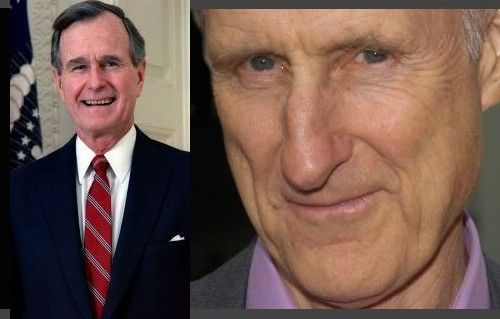 James Cromwell en George Bush Senior