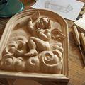 Alain Montoir sculpteur - <b>Sculpture</b> sur bois - Dorure à la feuille d'or
