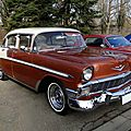 Chevrolet Bel Air 4door sedan, 1956, <b>Retrorencard</b> 2013