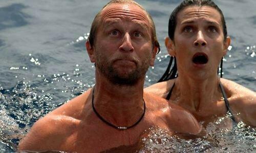 Benoit Poelvoorde et Géraldine Pailhas