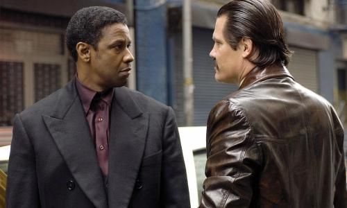 DENZEL WASHINGTON face à JOSH BROLIN