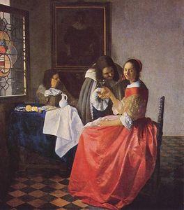 1660jeunefilleauverredevin