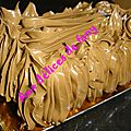 BCHE CARREE <b>CREME</b> AU <b>BEURRE</b> AU CHOCOLAT