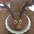 Gâteau zebré, Monsieur le renne !
