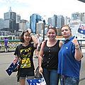 Les Bru à Bondi... Bondi Sydney pas Bondi Neuf Trois !