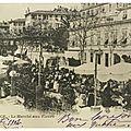 Le marché aux primeurs du Cours Saleya