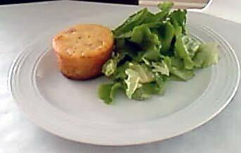 recettes entrees  Gâteau au yaourt au jambon