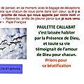 Association des amis de Paulette CALLABAT