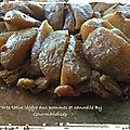 Tarte tatin légère aux <b>pommes</b> et à la cannelle SANS GLUTEN ( 243 cal/ par part)