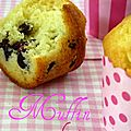 Muffin aux <b>cranberries</b>