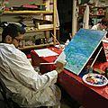La nouvelle Année 2015 s'annonce riche en créativités et couleurs à l'Atelier de Peintures <b>Tétines</b> et Biberons à Aubagne