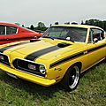 Plymouth <b>Barracuda</b> 340 Formula S fastback coupe - 1969