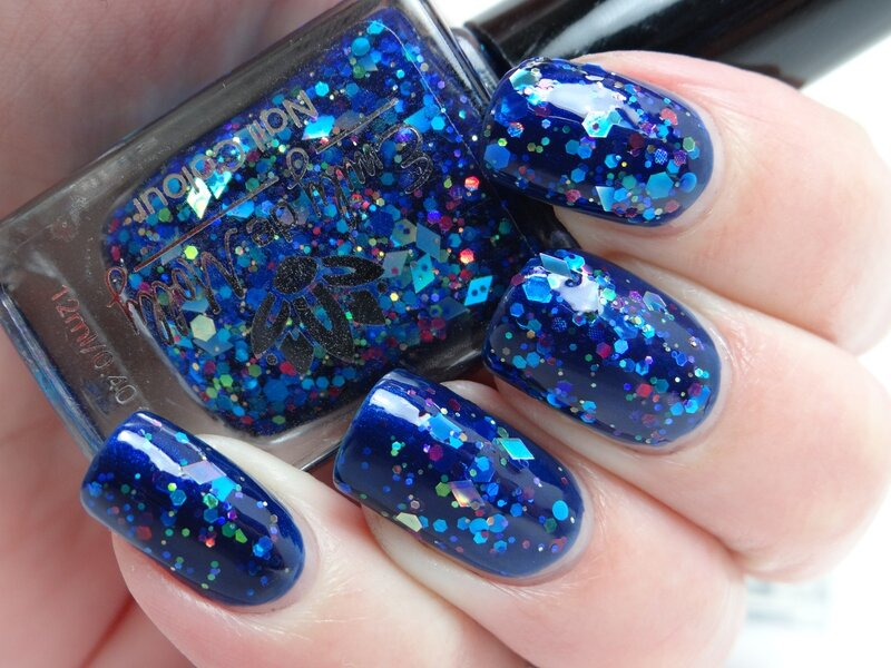 Turbulence sur Royal Blue de Nyx
