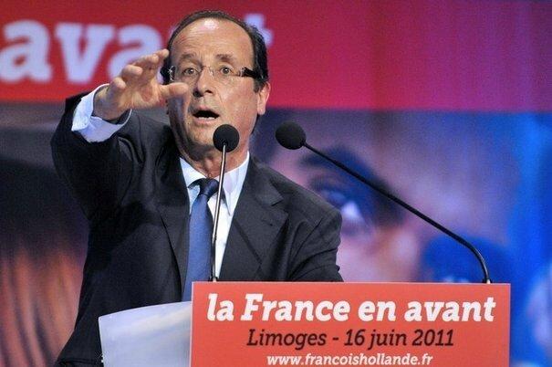 François Hollande meeting