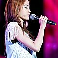 <b>Jolin</b> at the Yangtze River International Music Festival in Zhenjiang