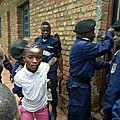 Très chère Police Nationale Congolaise, un enfant ça ne se menotte pas !