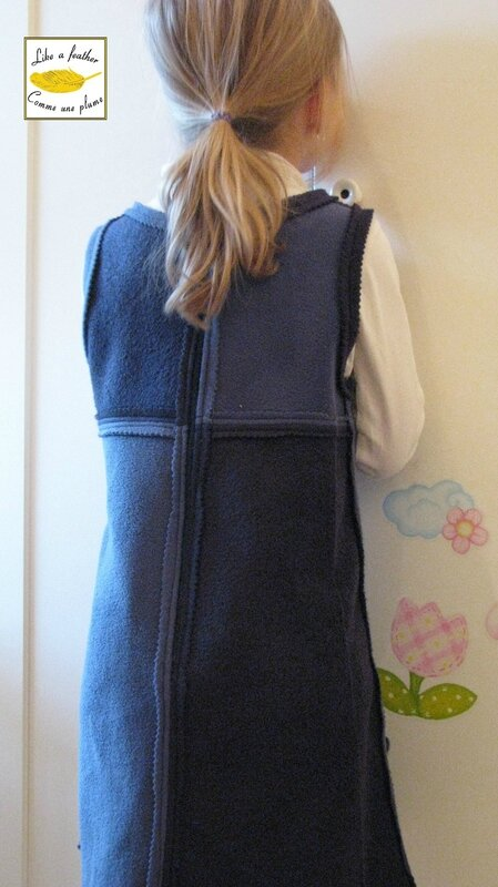Fleece dress5