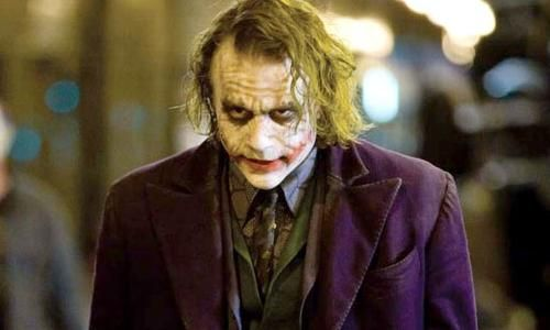 Heath Ledger est le Joker