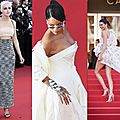 Rihanna, Kendall Jenner et Kristen Steward sur le tapis rouge de Cannes