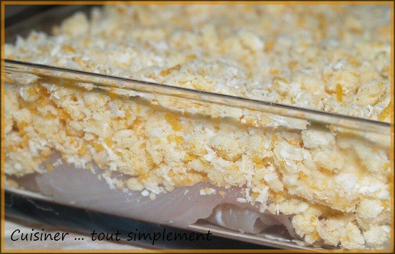 Crumble de lieu jaune et la noix de coco cuisiner tout simplement le blog de cuisine de - Comment cuisiner le lieu jaune ...
