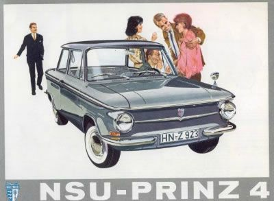 12 - NSU-PRINZ 4 - 1961 Catalogue