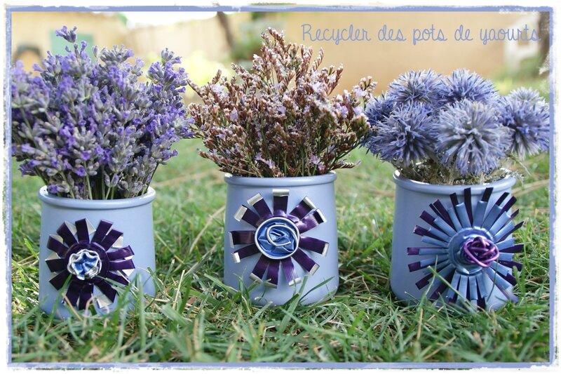 Deco Pot De Fleur Terre Cuite Fleurs En Tissu Dans Son Pot En Terre