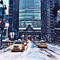 Tempête de <b>neige</b> annoncée sur New York