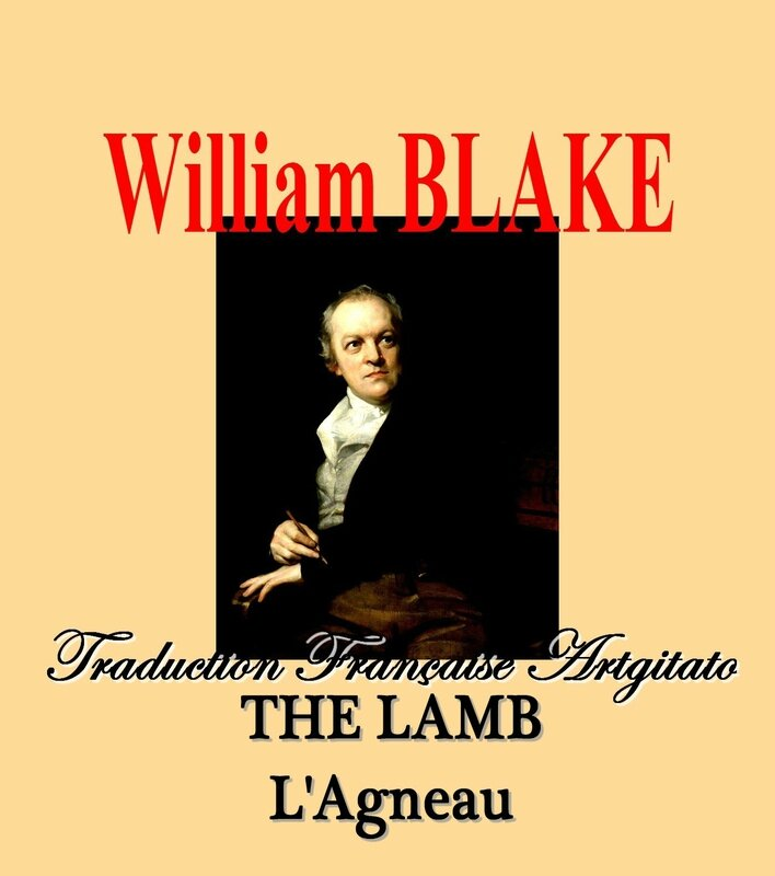 The Lamb William Blake par Thomas Phillips Traduction Artgitato française L'Agneau William Blake