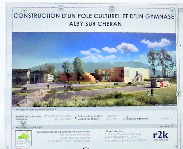 Pole culturel et sportif 15 11 2014
