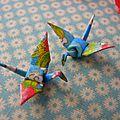 <b>Soldes</b> bijoux en origami