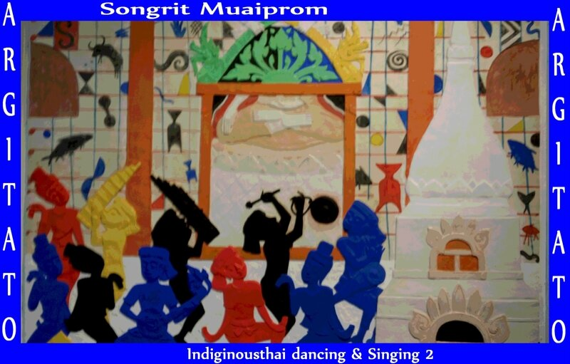 Songrit Muaiprom Indiginousthai dancing and singing 2 2014 artgitato