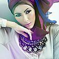 <b>Hijab</b> été et hiver en couleur