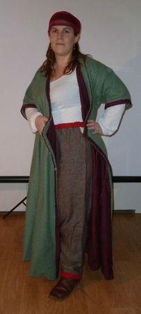 caftan et pantalon mongol XIIIème 72376260_p