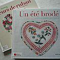 <b>Broderie</b> <b>traditionnelle</b> : Un été brodé
