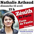 Meeting <b>Nathalie</b> <b>Arthaud</b> Paris