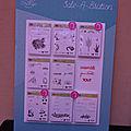 Panneaux du prochain catalogue dont Sale A Bration